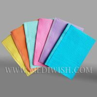 Coloful Disposable Dental Bib, dental bib fabric, dental napkin