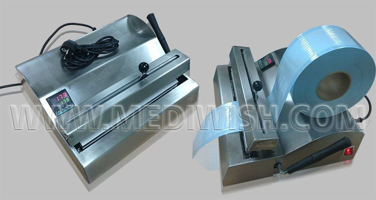 sealer machine for medical device with digital display