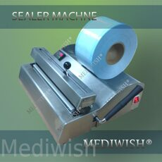 Dental manual sealer machine for sealing sterilization pouches in hospitals
